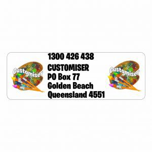Business Return Labels Large Custom Design Print Printed in Australia Cheap