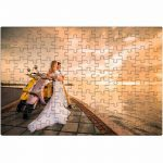 Custom Photo Image Design Online Print Jigsaw 120 Piece Wedding