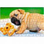 Custom Photo Image Design Online Print Pet Dog Cat Jigsaw A3 252 Piece